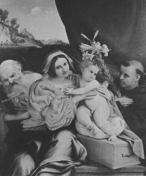 MADONNA AND CHILD, BY LORENZO LOTTA