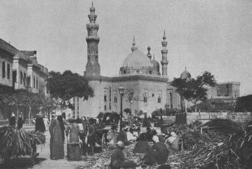 THE SULTSN HASAN MOSQUE, CAIRO