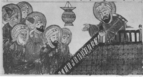 MUHAMMAD PREACHING HIS FAREWELL SERMON
