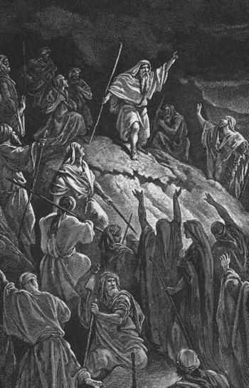 MATTATHIAS APPEALING TO THE JEWISH REFUGEES
