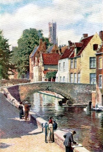 BRUGES-A CITY OF BRIDGES.
