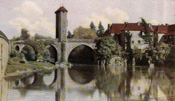 AN OLD BRIDGE OVER THE GAVE-DE-PAU