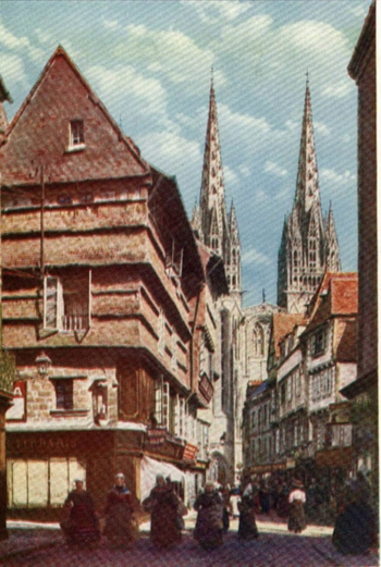 THE CATHEDRAL OF SAINT CORENTIN