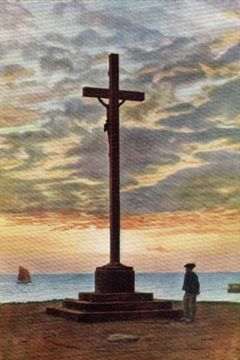 A CALVARY ALONG THE SEA OF BRITTANY