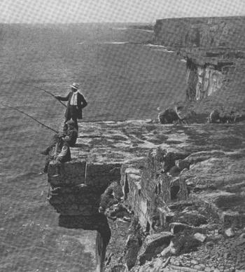 THE STEEP CLIFFS OF INISHMORE