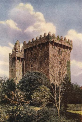 BLARNEY CASTLE BUILT IN 1446.