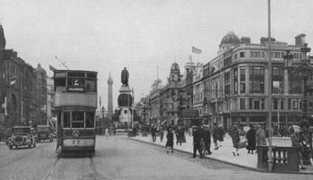 O'CONNELL STREET IN DUBLIN.