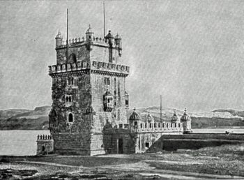 THE TOWER OF BELEM.