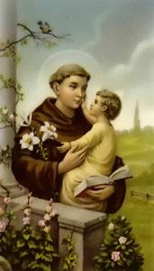 Anthony of Padua.