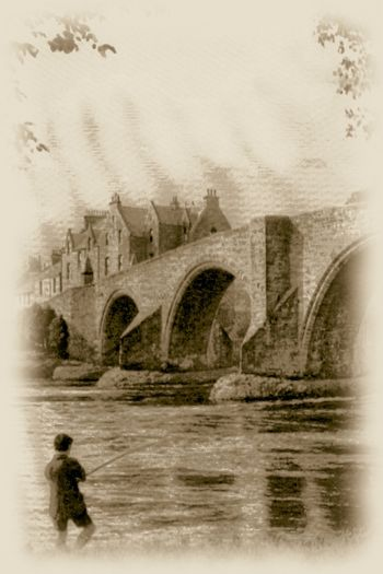 OLD STERLING BRIDGE OVER THE FORTH.