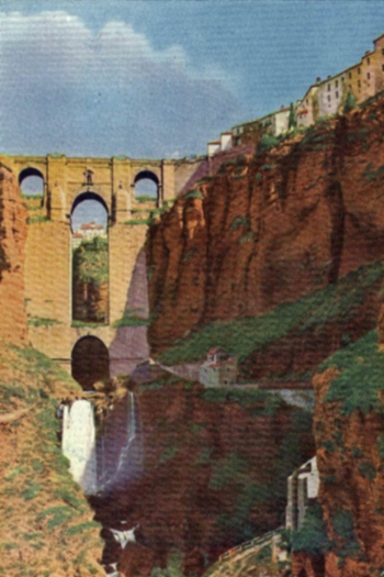 THE CHASM  OF RONDA AND CIUDAD.